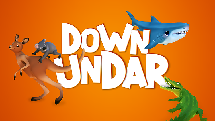 Down UndAR ::  AR Mobile Game :: Rigging, Animation, 3D Art, Programming
