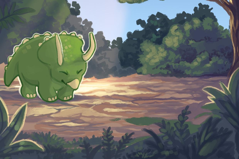 DinofriendAI :: Solo Personal Project - Art, programming
