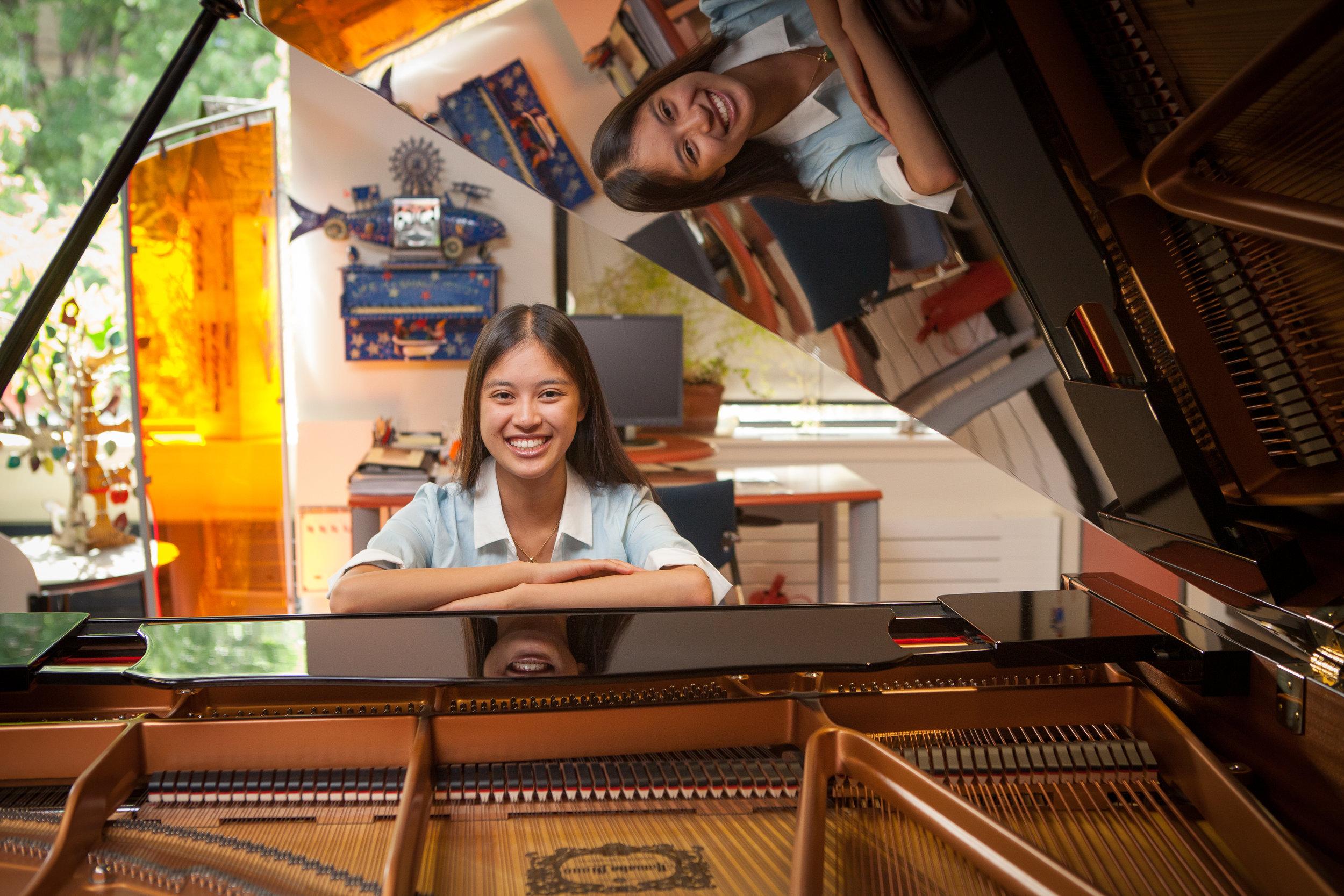 Ylan Chu, piano, teaching - © Bonnie Findley