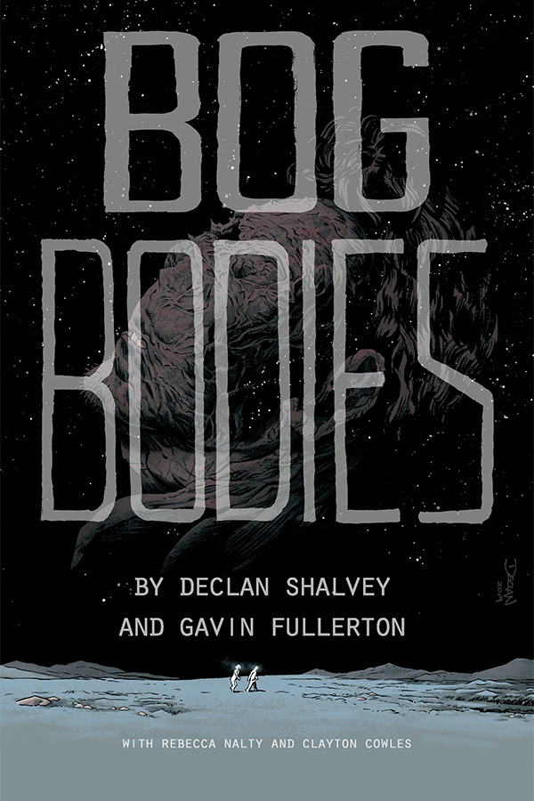 A cold, poignant story of crime, survival, and regret, Bog Bodies follows an Irish gangster on the run after a job gone wrong who encounters a young woman lost in the Dublin mountains. Injured and unarmed, the unlikely pair must try to evade their pursuers and survive the desolate bog that has served as burial grounds for unspeakable murder throughout history. Coming to Image Comics in March 2020.