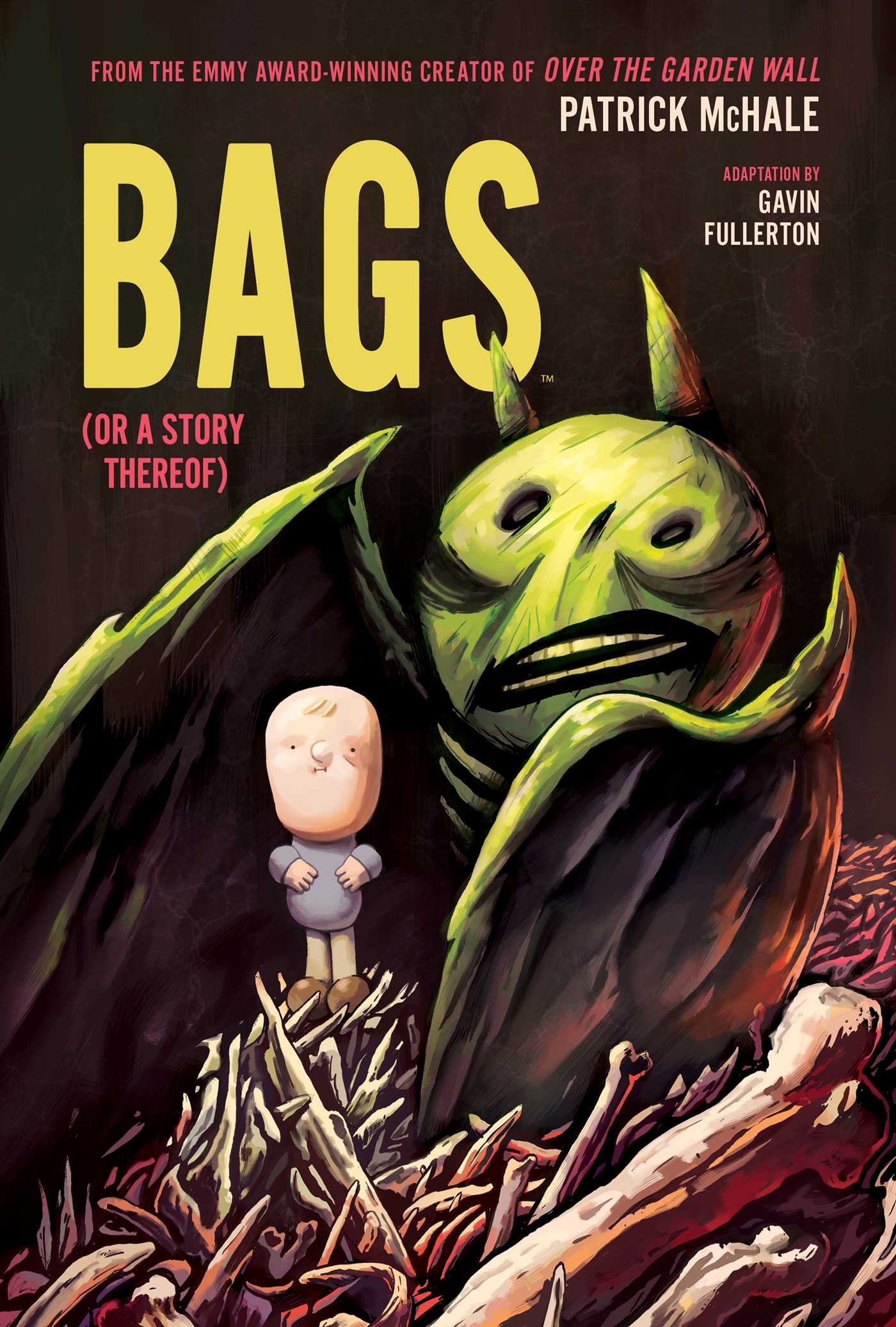 Bags (Or A Story Thereof) is my first graphic novel from Boom! Studios. Adapted from the short story of the same name by Patrick McHale (Over the Garden Wall). It's about a man called John Motts, who goes in search of his missing dog.
