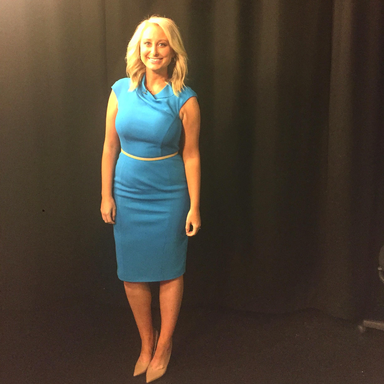 Dress:  Karen Millen blue pencil