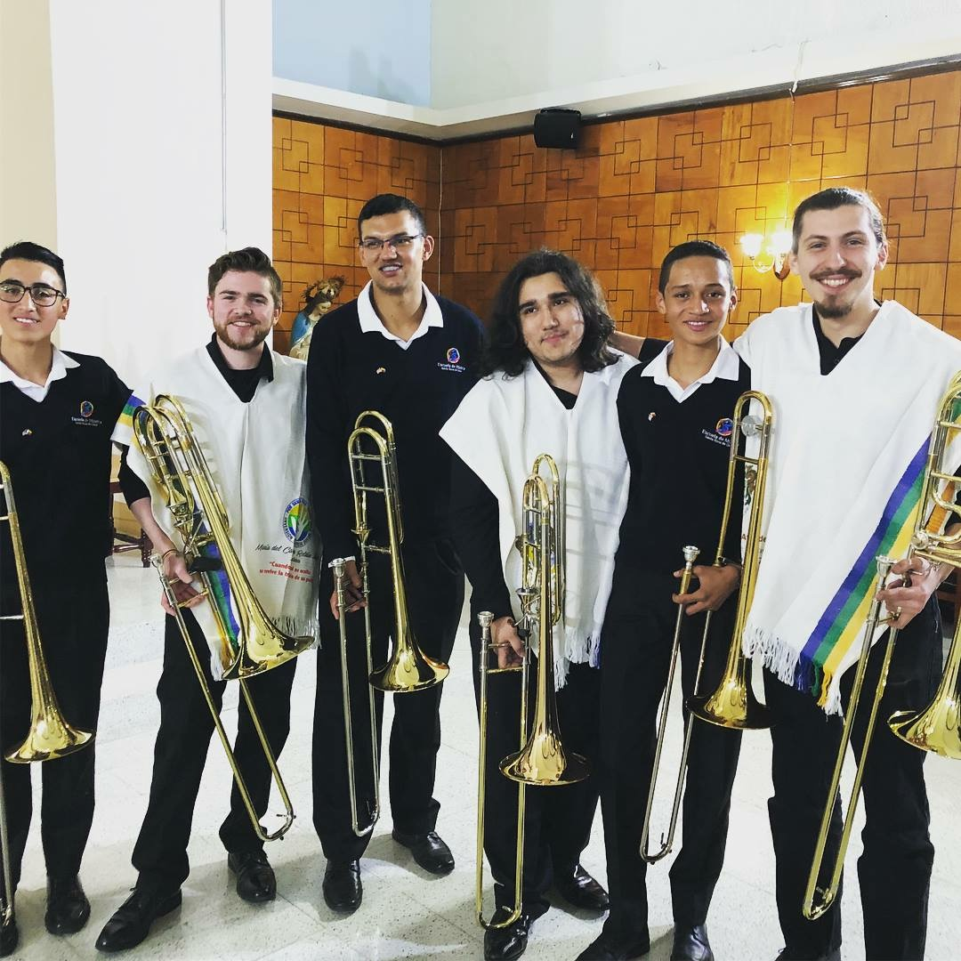Three studio members travelled to Colombia with the Vanderbilt Wind Symphony.