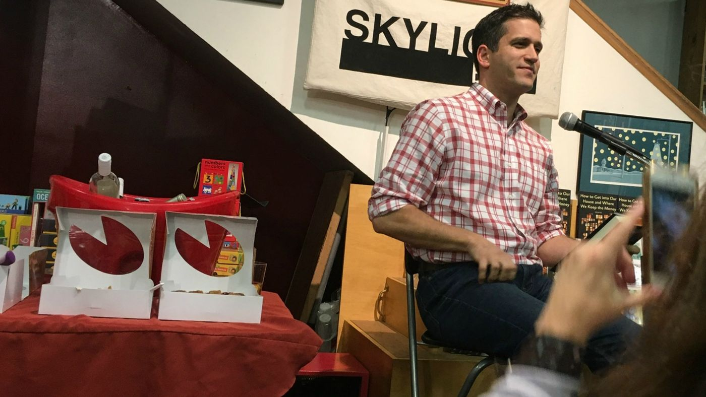 LA Times: Presenting his debut collection, Panio Gianopoulos is funny and disarming at Skylight Books