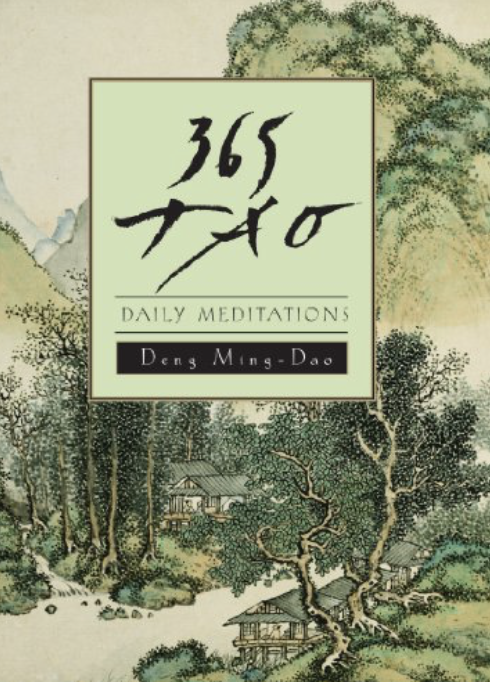 365 Tao: Daily MeditationsMing-Dao Deng - I was skeptical of this book. My wife received it as a gift and the cover made it look like bathroom reading from a spa. I'm not even sure why I first dipped into it, but I'm glad I did, because it's fantastic.I expected palliatives and empty inspirational bullshit. Nope. It's smart and complicated and surprisingly relevant. And it's inspiring in its own way, like having a long, winding conversation with an old friend who just returned from a journey overseas.