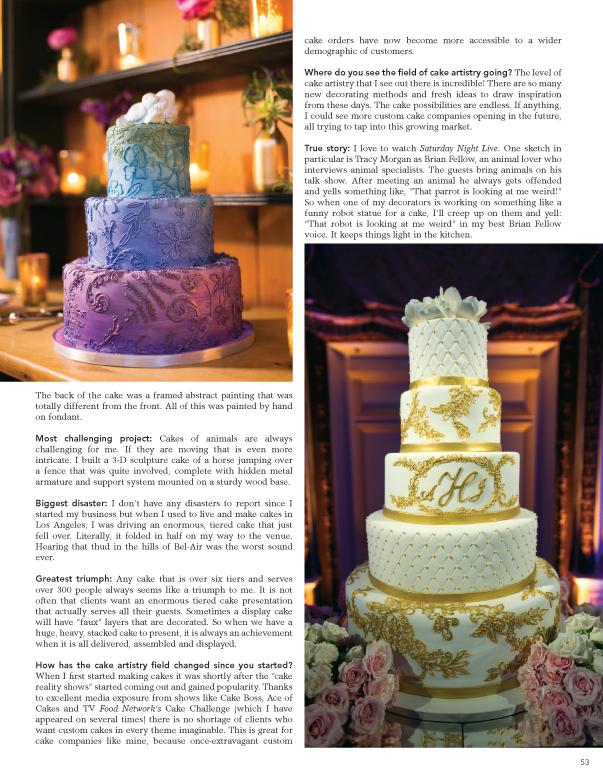 Cake Coquette in Dessert Professional Magazine — Cake Coquette