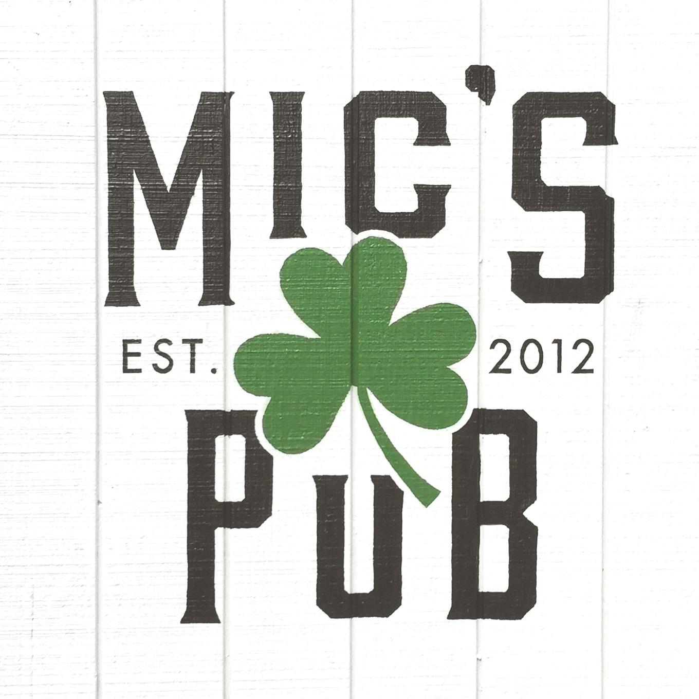 Mic's Pub  Logo and Menu Design