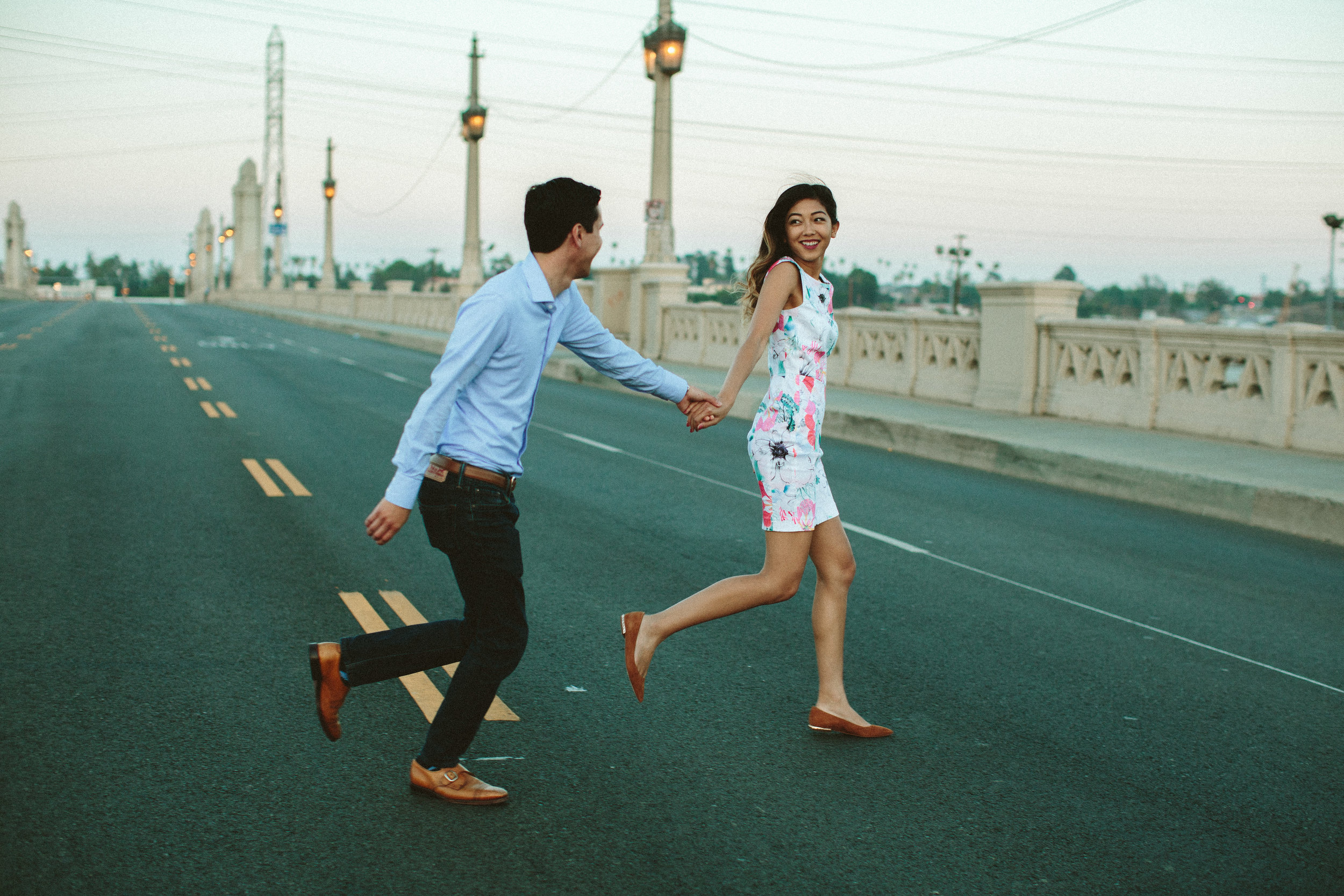DTLA engagement session