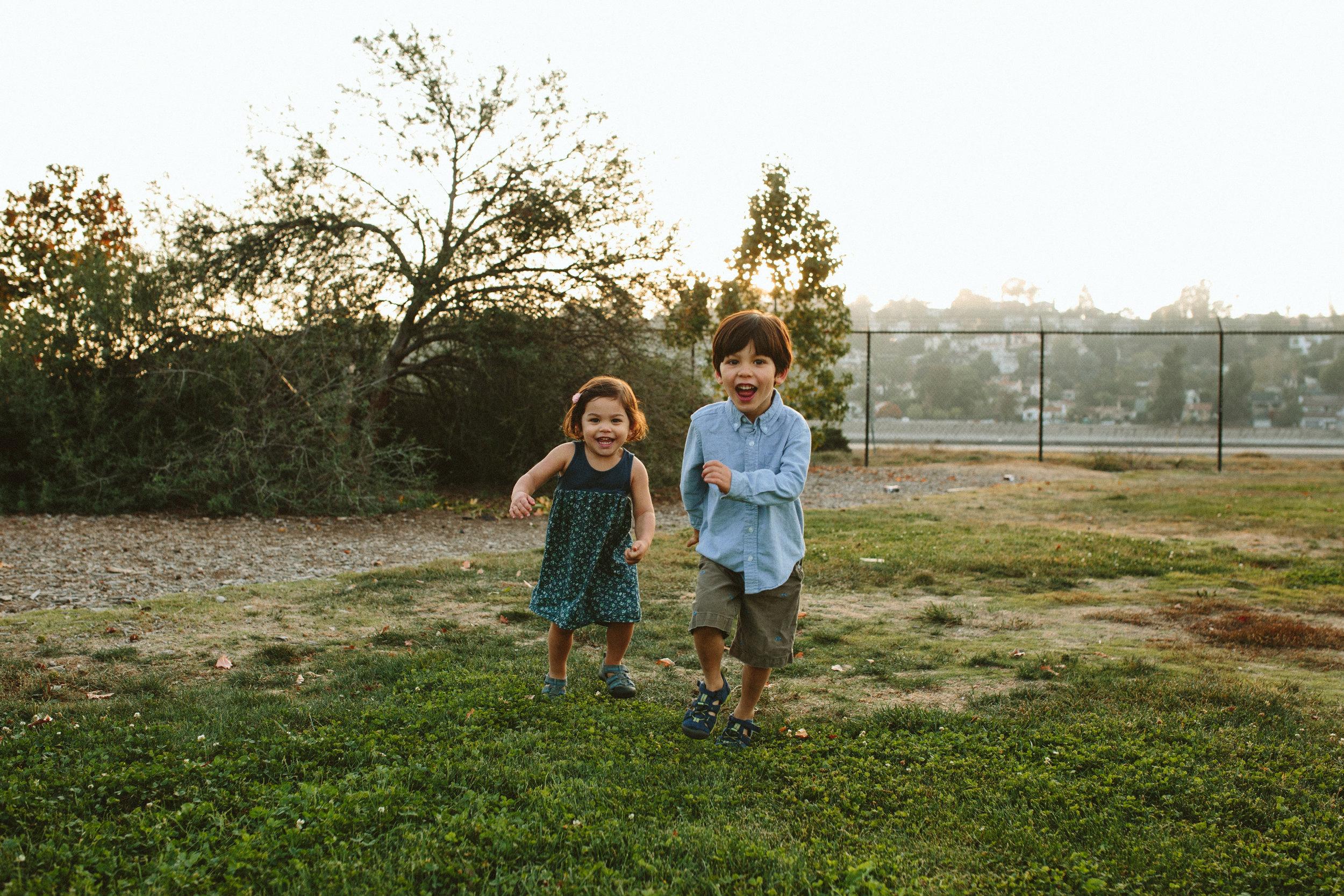 candid children