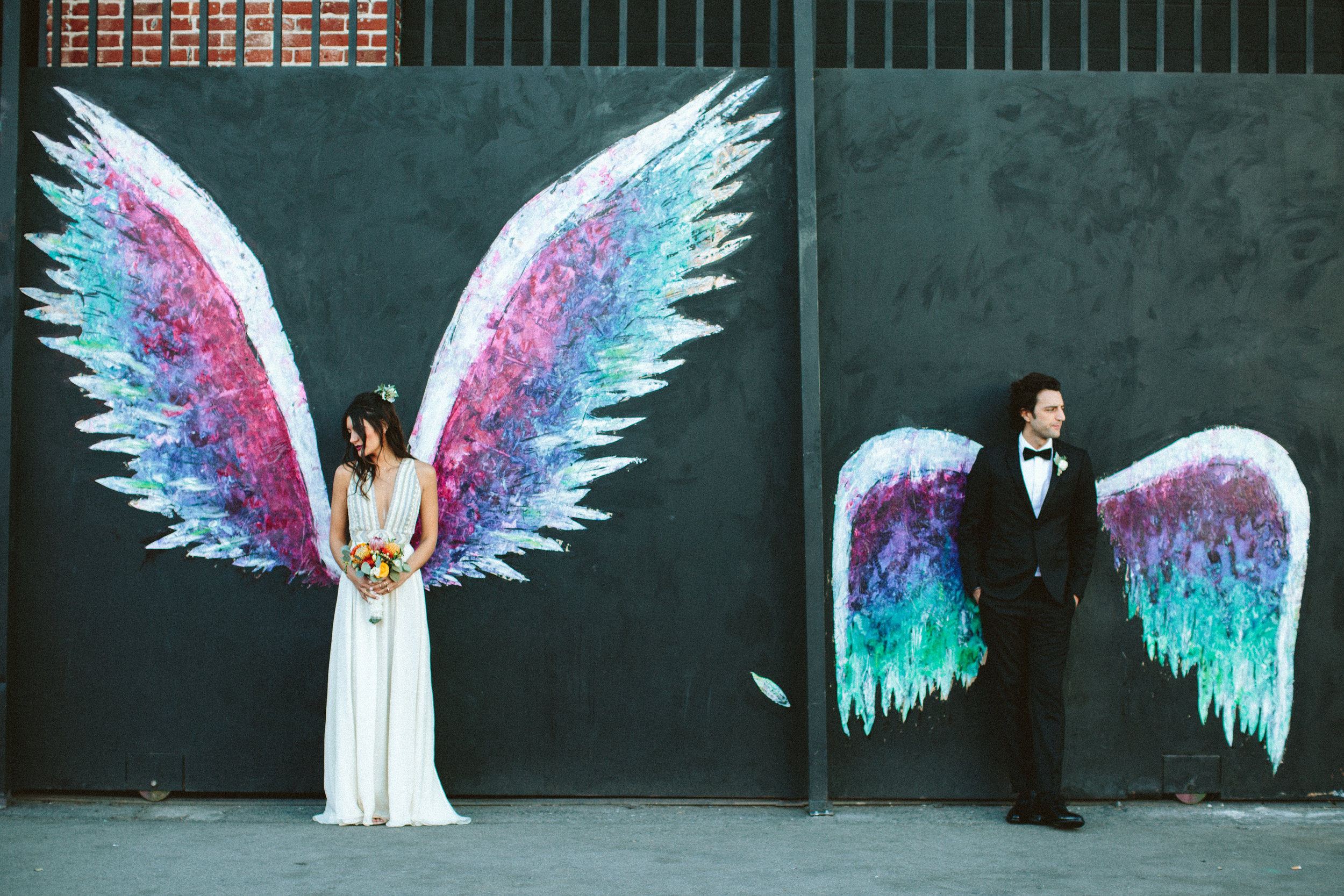 DTLA wedding photos
