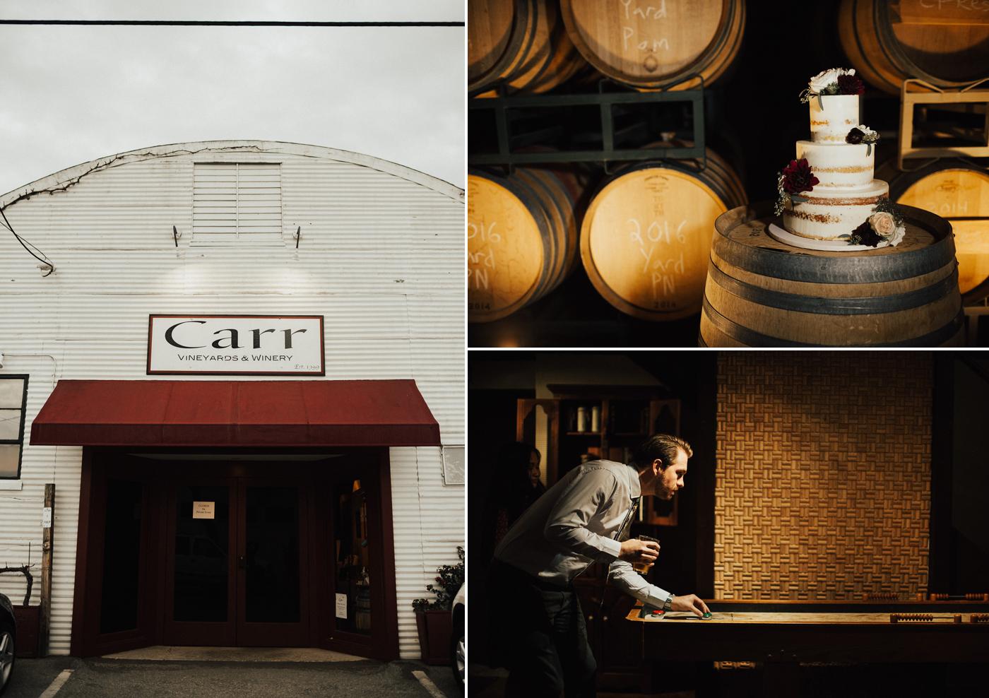 Carr Winery Wedding photos