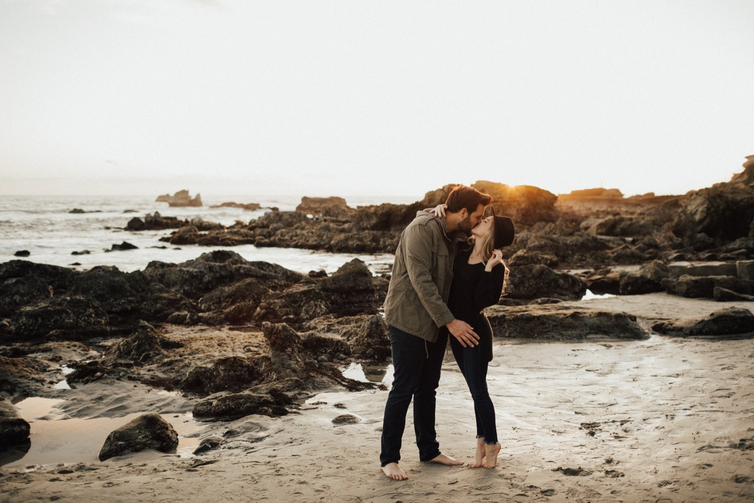 Heisler Park engagement photos
