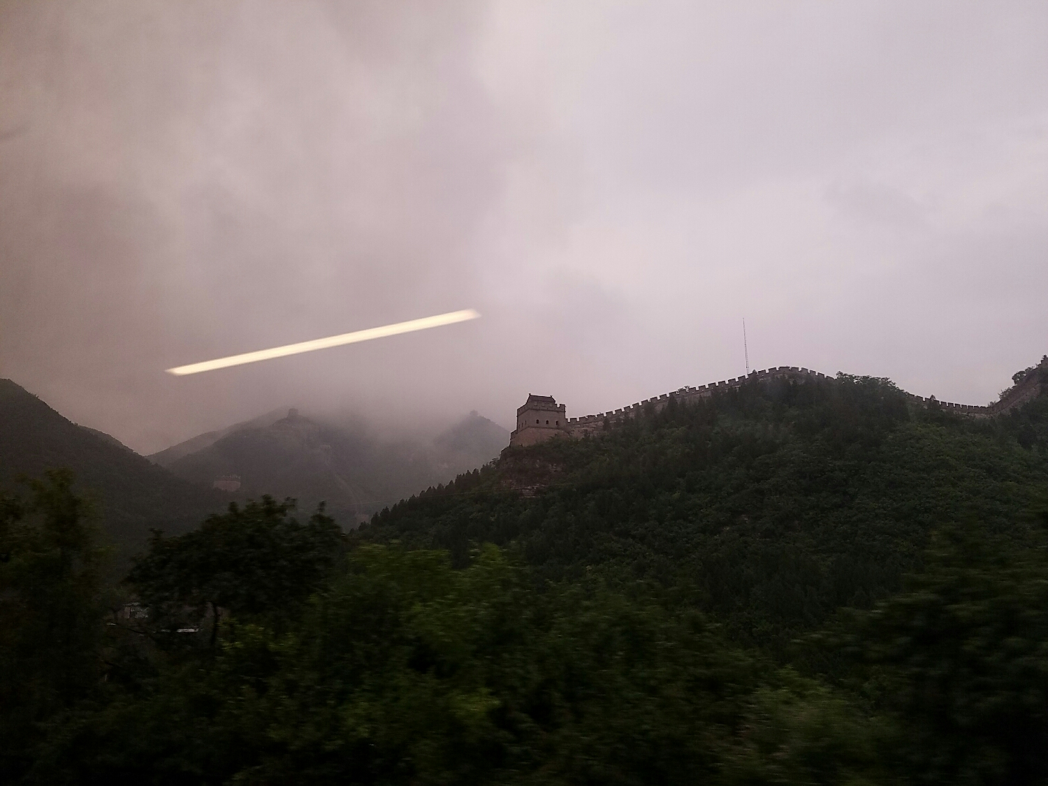 Good night Great Wall.