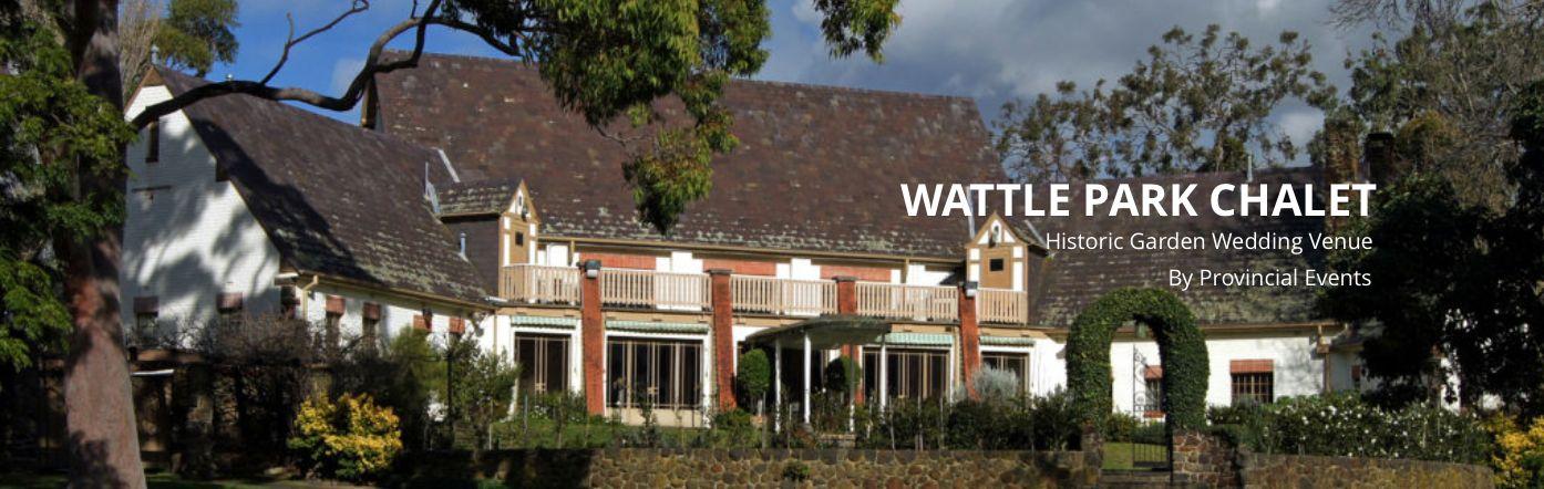 Wattle Park Chalet       www.wattleparkchalet.com.au    Ph: 03 9808 0122