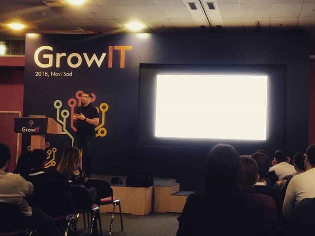 We're very excited to be at #growitconf today! Currently listening to @lemiorhan and his stance on how to improve your team's #agility.