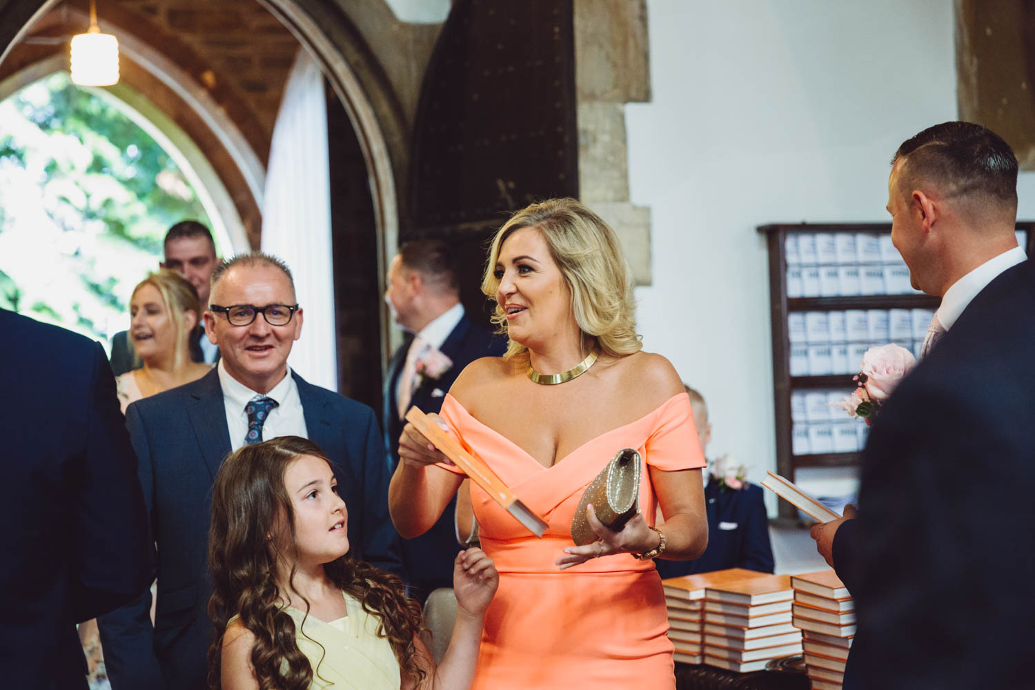 St Martins church Caerphilly, wedding photographer