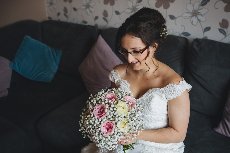 Bridal portraits, cardiff wedding photographer