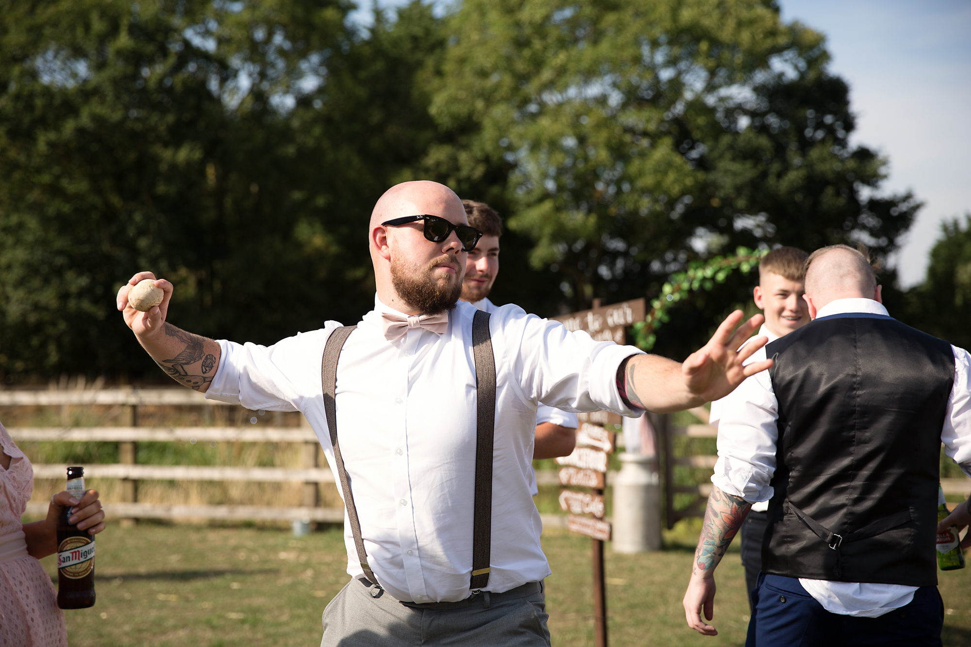wedding games, photographer south wales