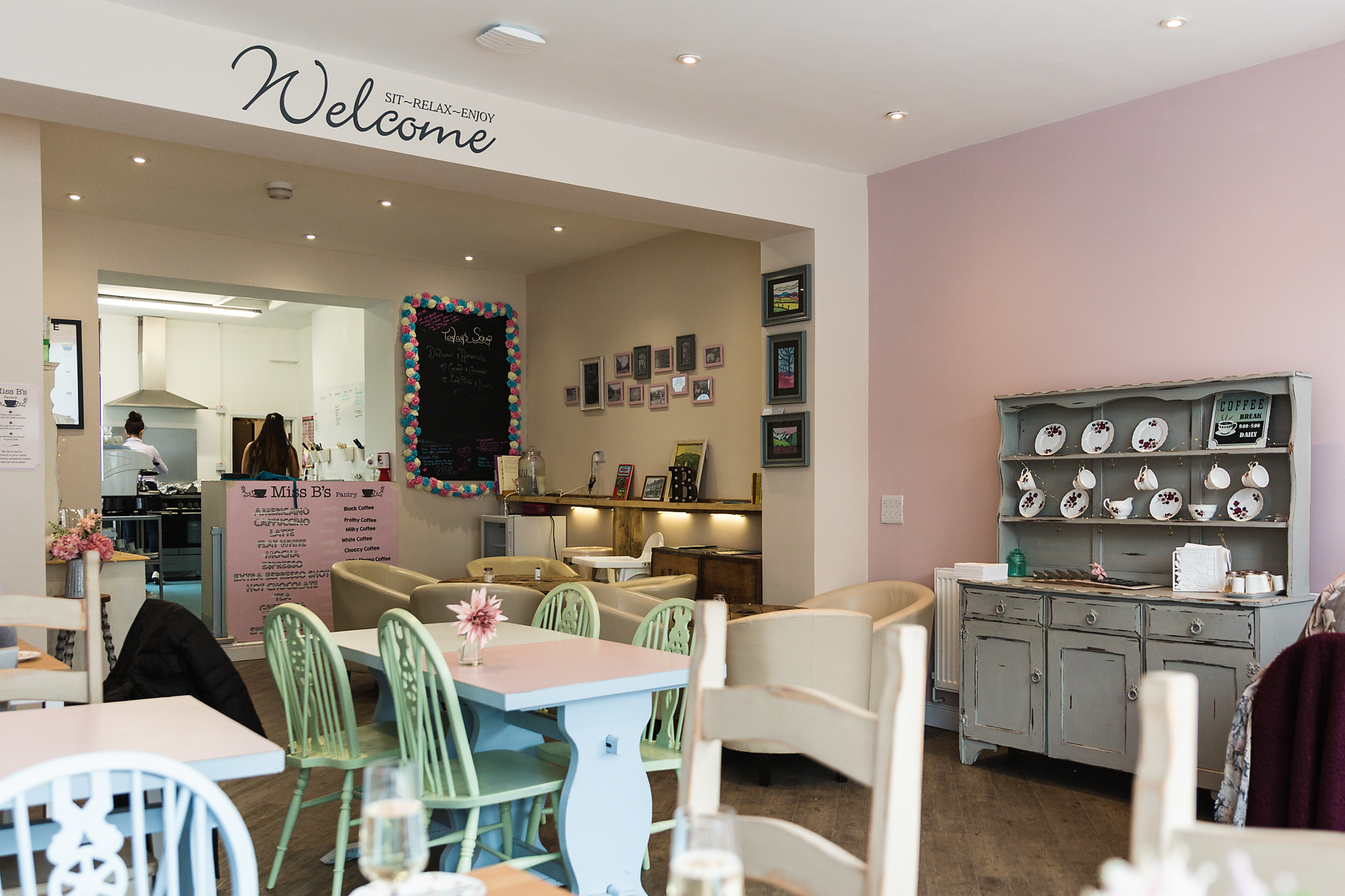 Miss B's cafe bedwas
