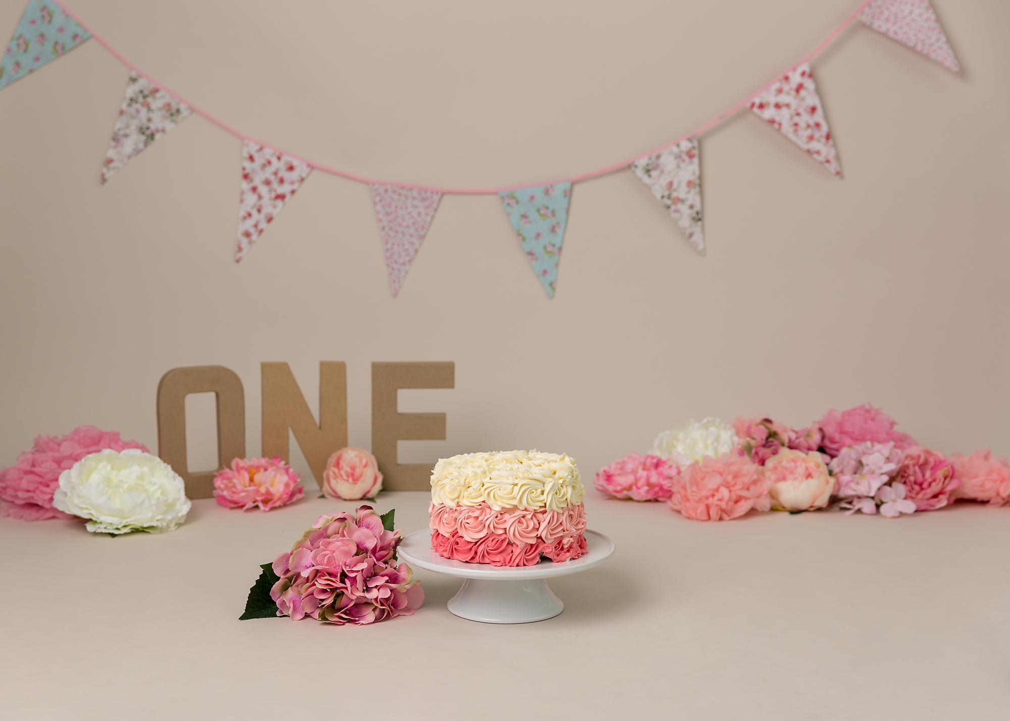pretty pink cake smash Cake Smash Cardiff