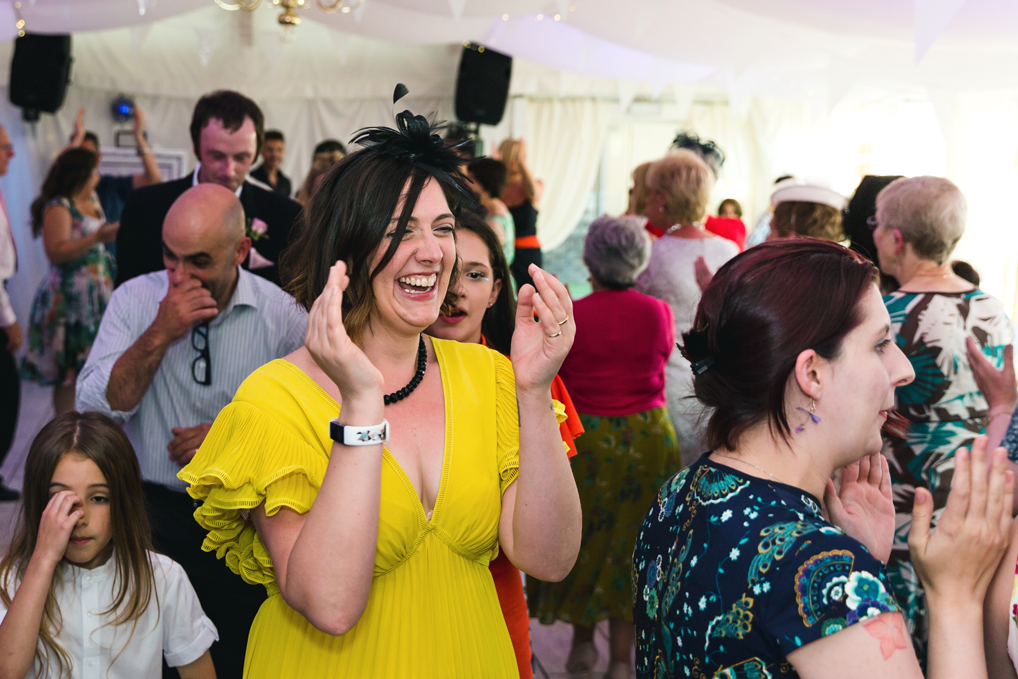 wedding party at Ridgeway Golf club Caerphilly mountain