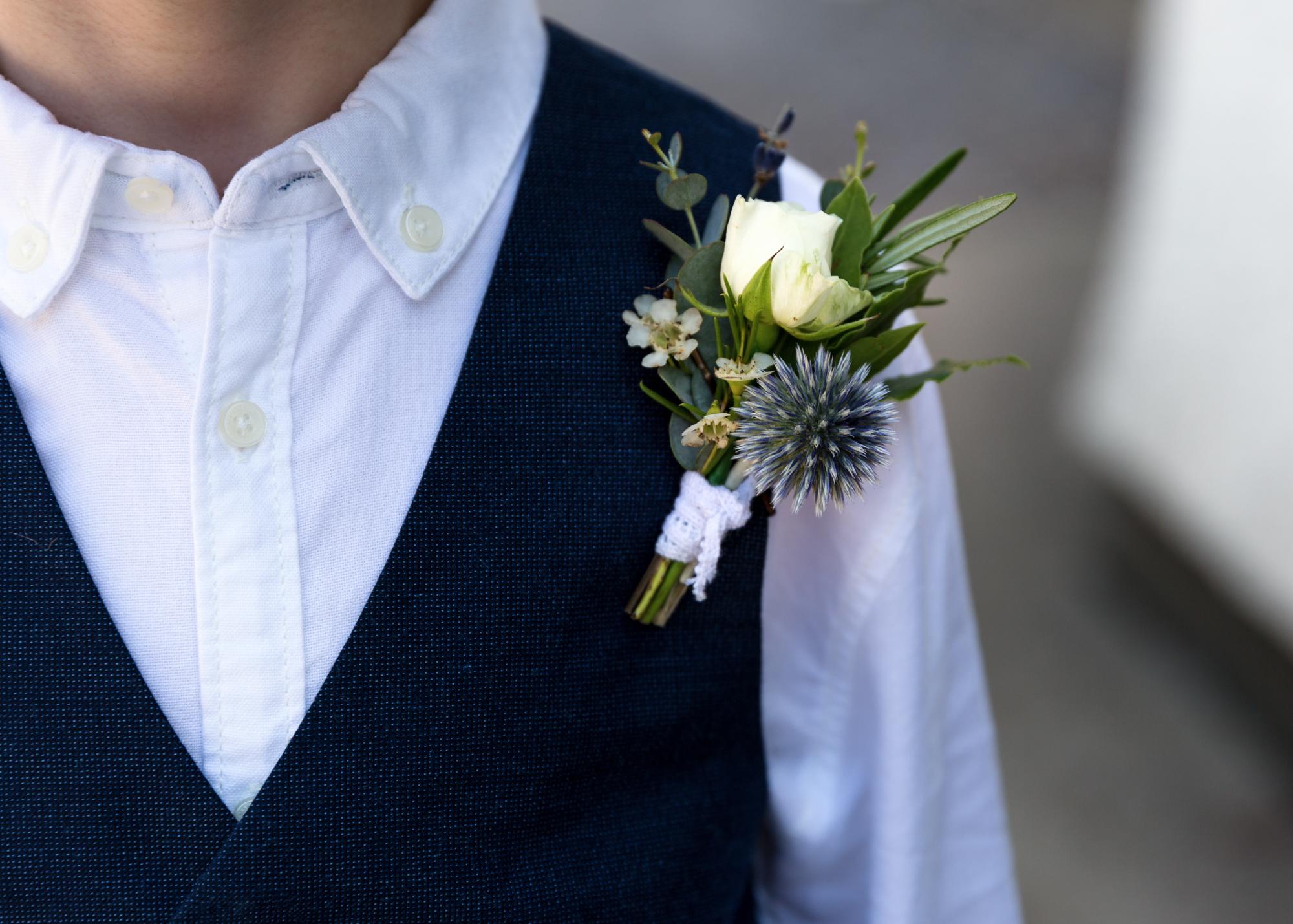 llechwen Hall flowers wedding photographer