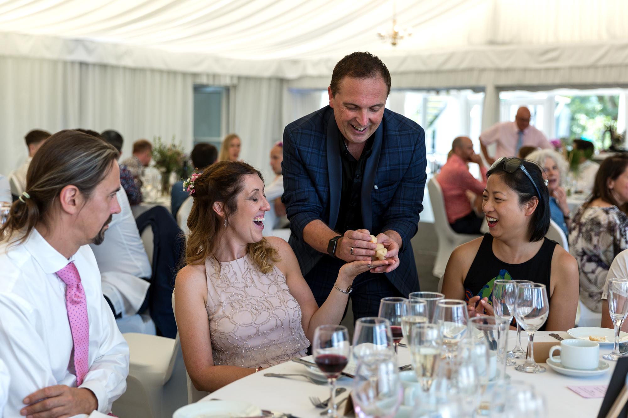 llechwen hall wedding photos