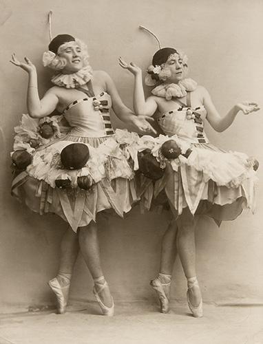 Original costumes by Ada Nigrin, 1924