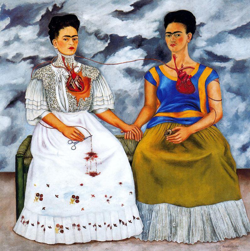 Frida Kahlo 'The Two Fridas' 1939
