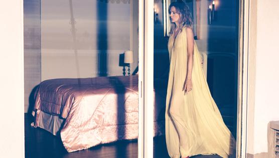 Michelle, Killing it in yellow dress in 2017