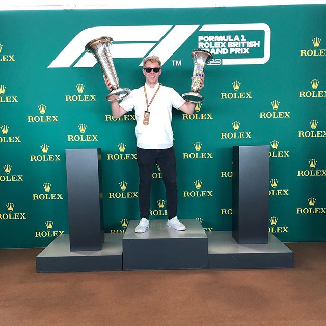 Sorry @lewishamilton they are mine this year!! Good luck tomorrow, make 🇬🇧 proud once again!! #britishgp #f1 #champion #winner