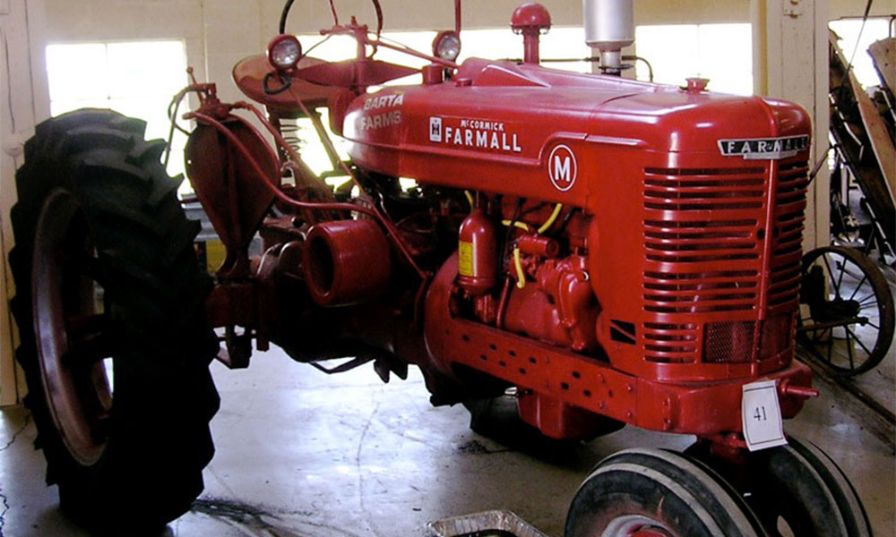 Historical Farm Museum - Red Farmall Tractor