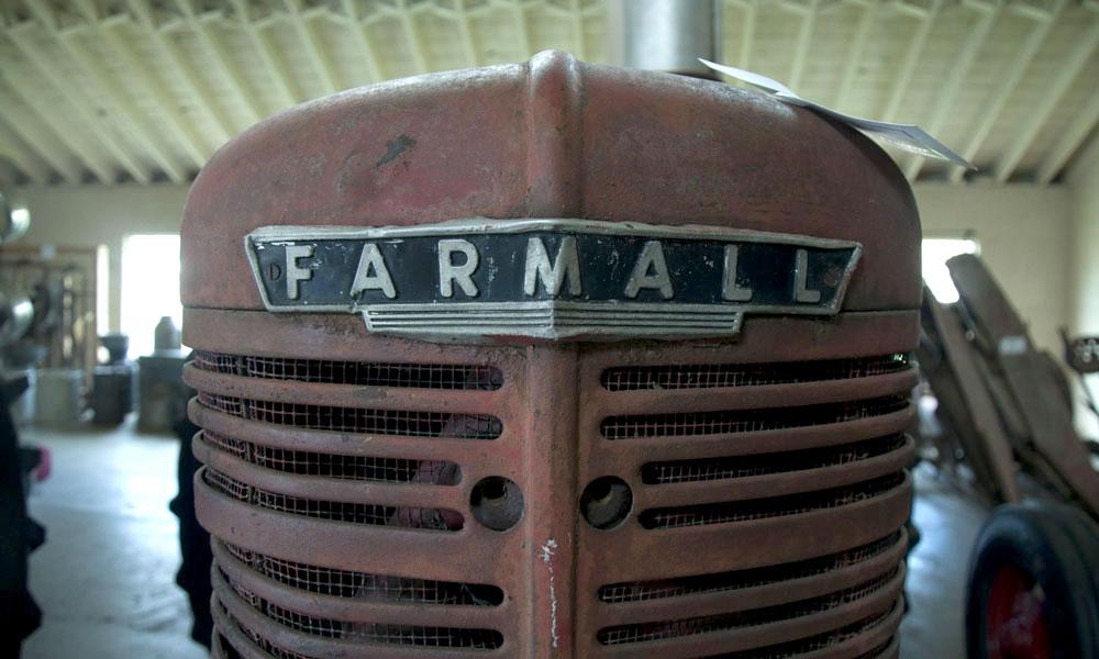 Historical Farm Museum - Farmall Tractor