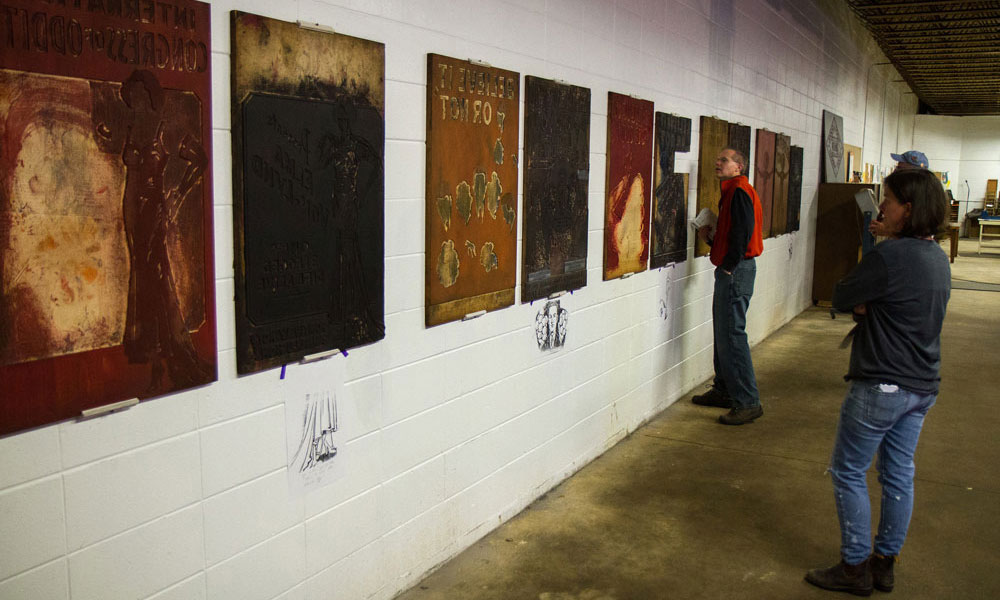 Hamilton Wood Type & Printing Museum - Gallery