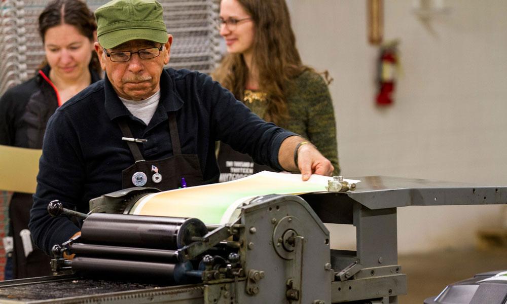 Hamilton Wood Type & Printing Museum -Printing