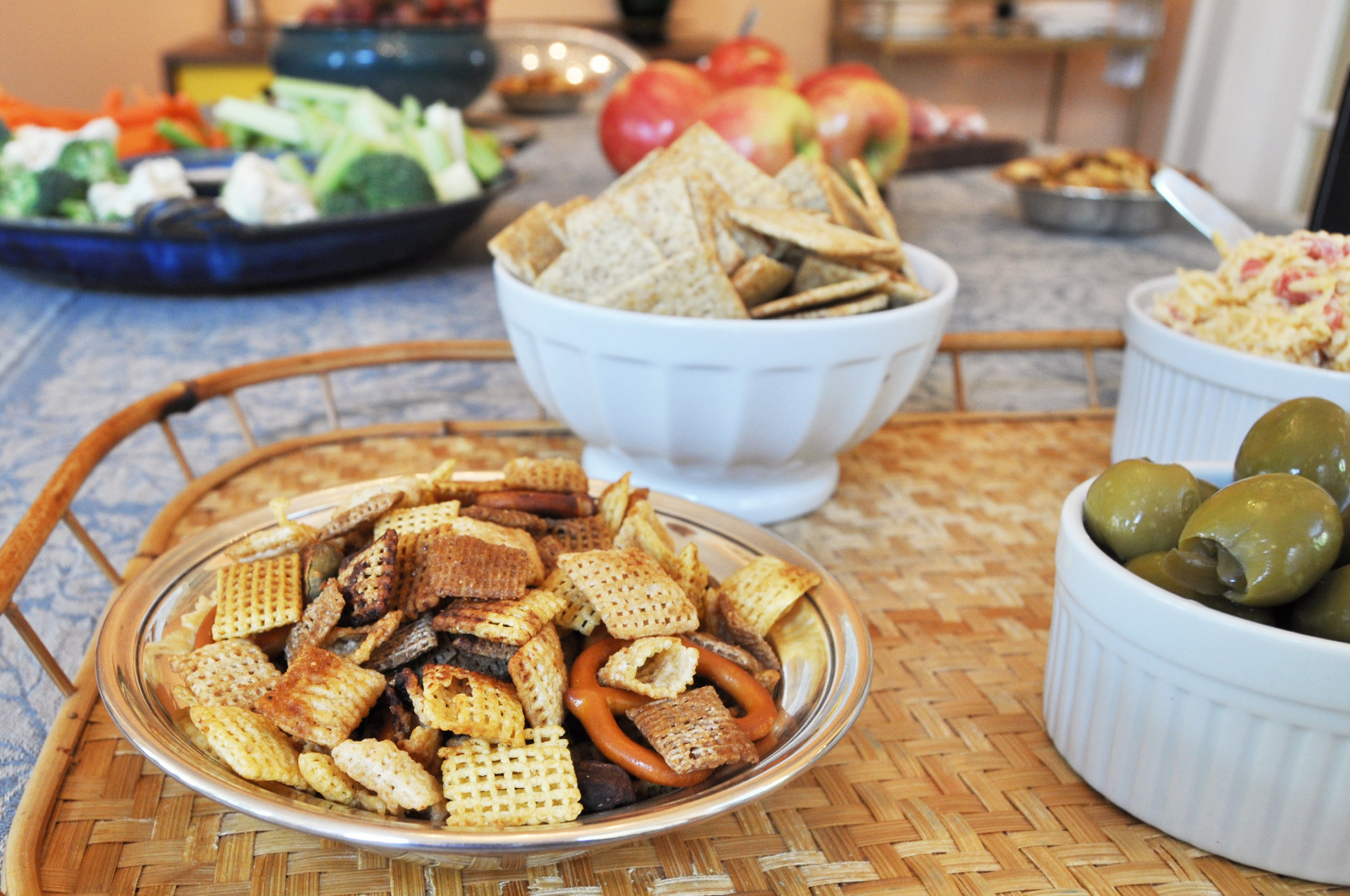 chex-mix-dining-room-table