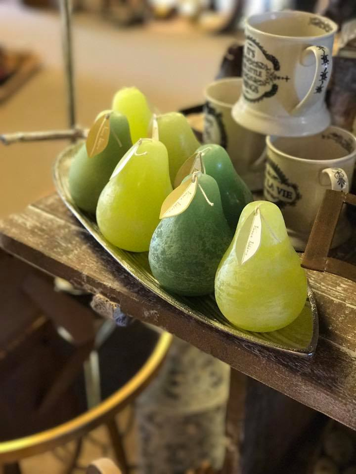 Pear Candles