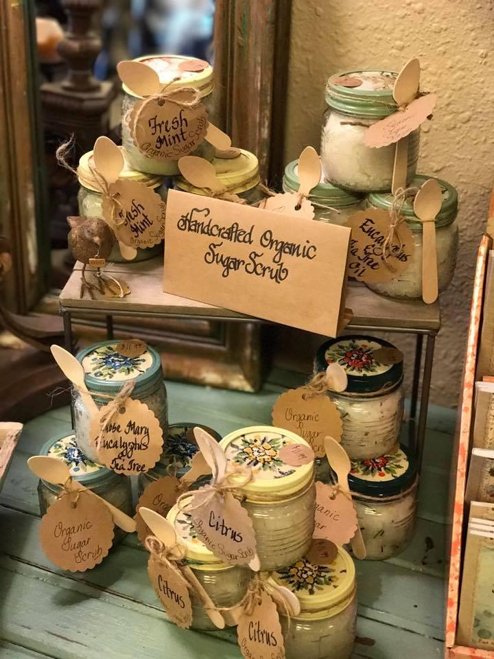 Homemade Organic Sugar Scrubs