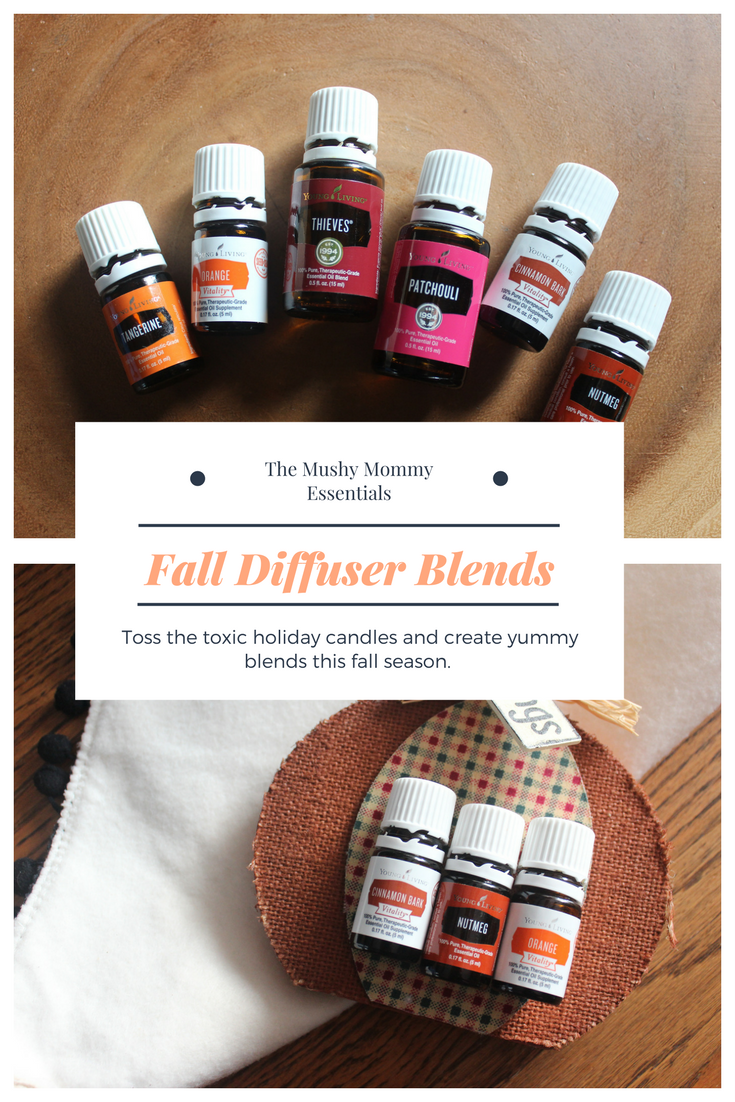 Fall Diffuser Blends.