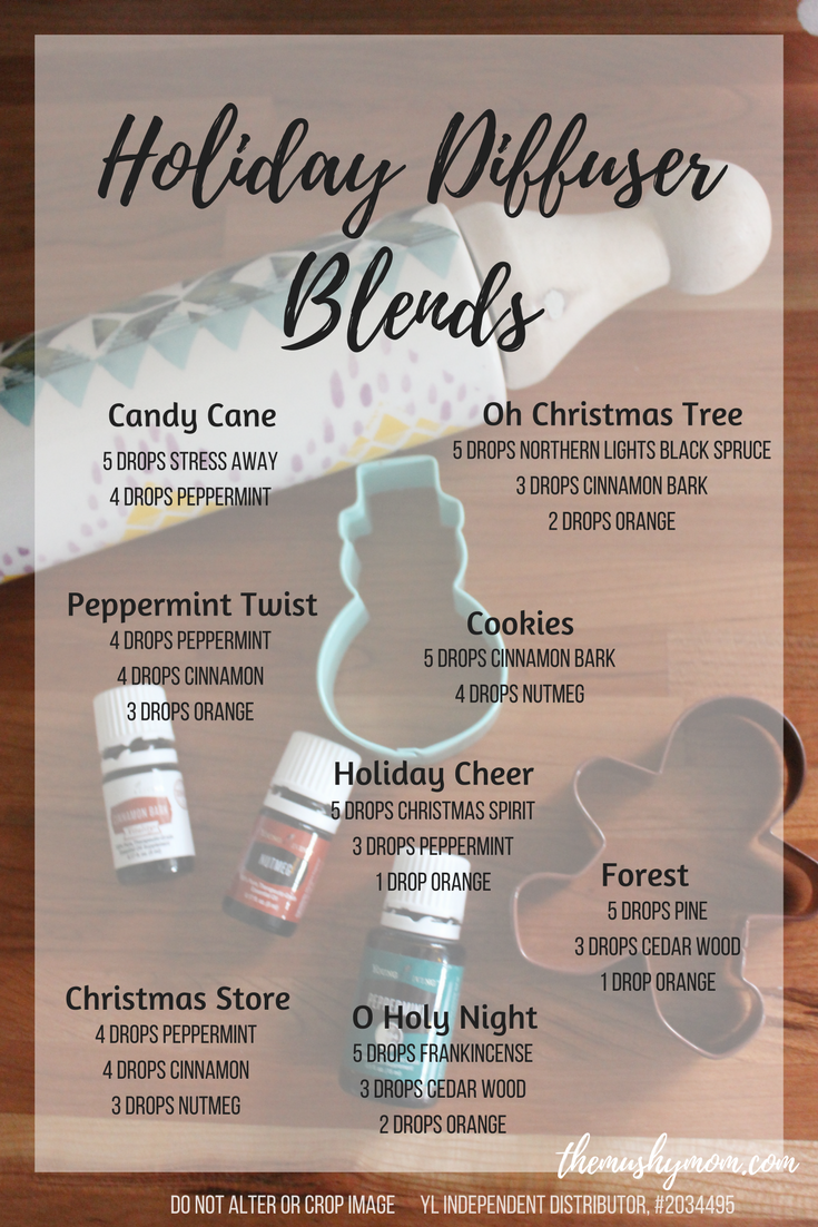 Holiday Diffuser Blends