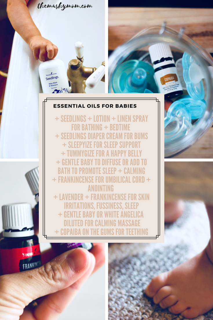 Essential Oils and babies