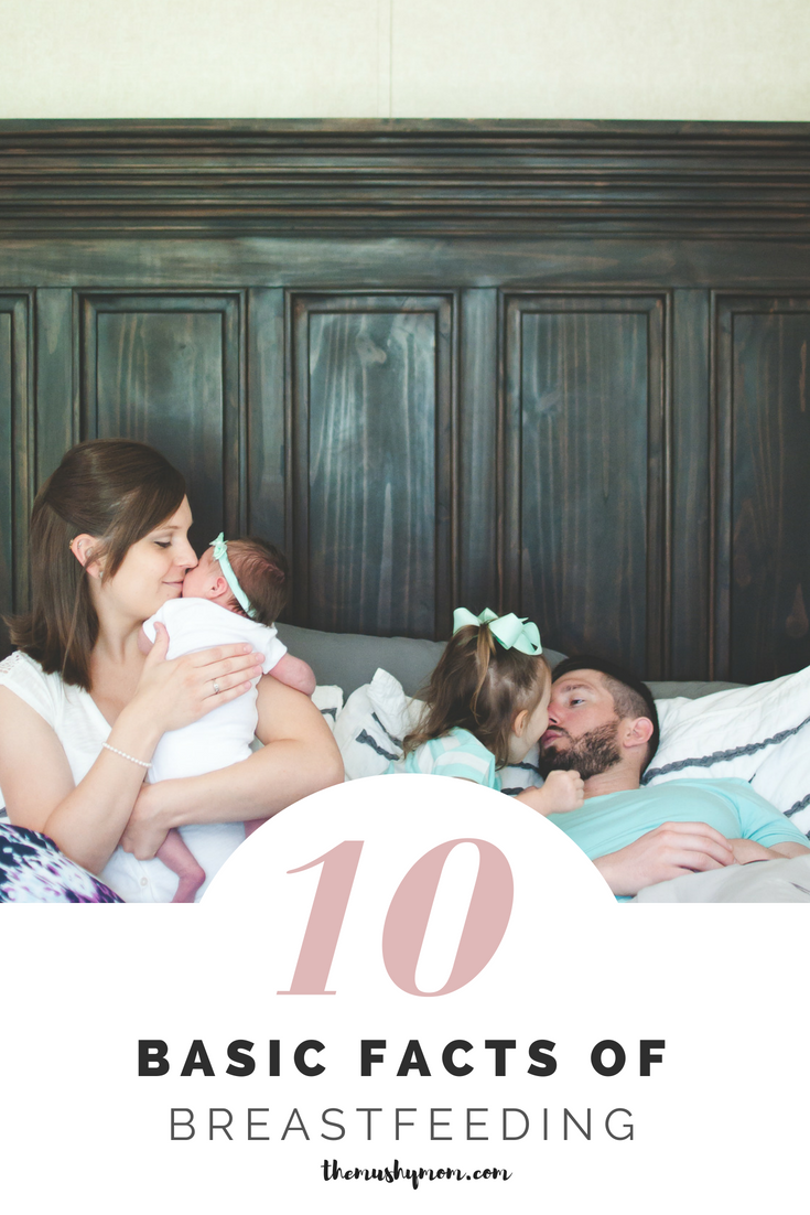 10 facts of breastfeeding