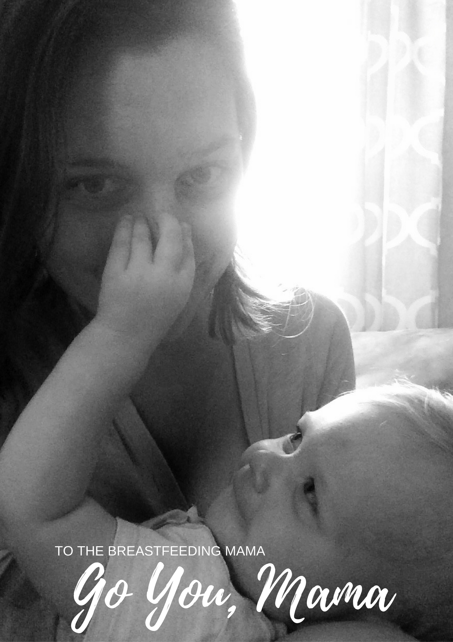 A Note to the Breastfeeding Mama