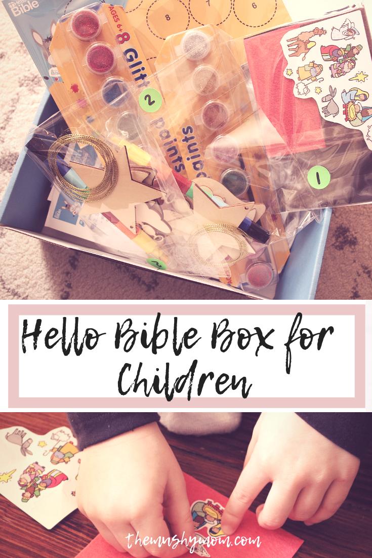 Hello Bible box