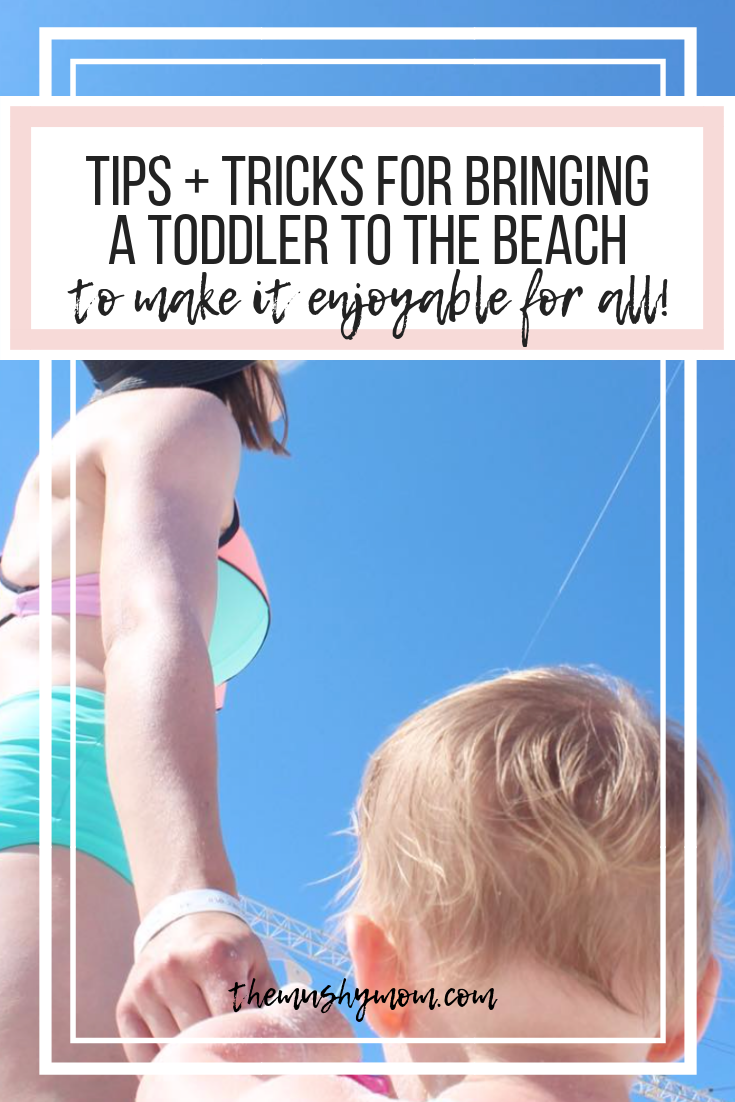 Tips for Bringing a Toddler to the Beach