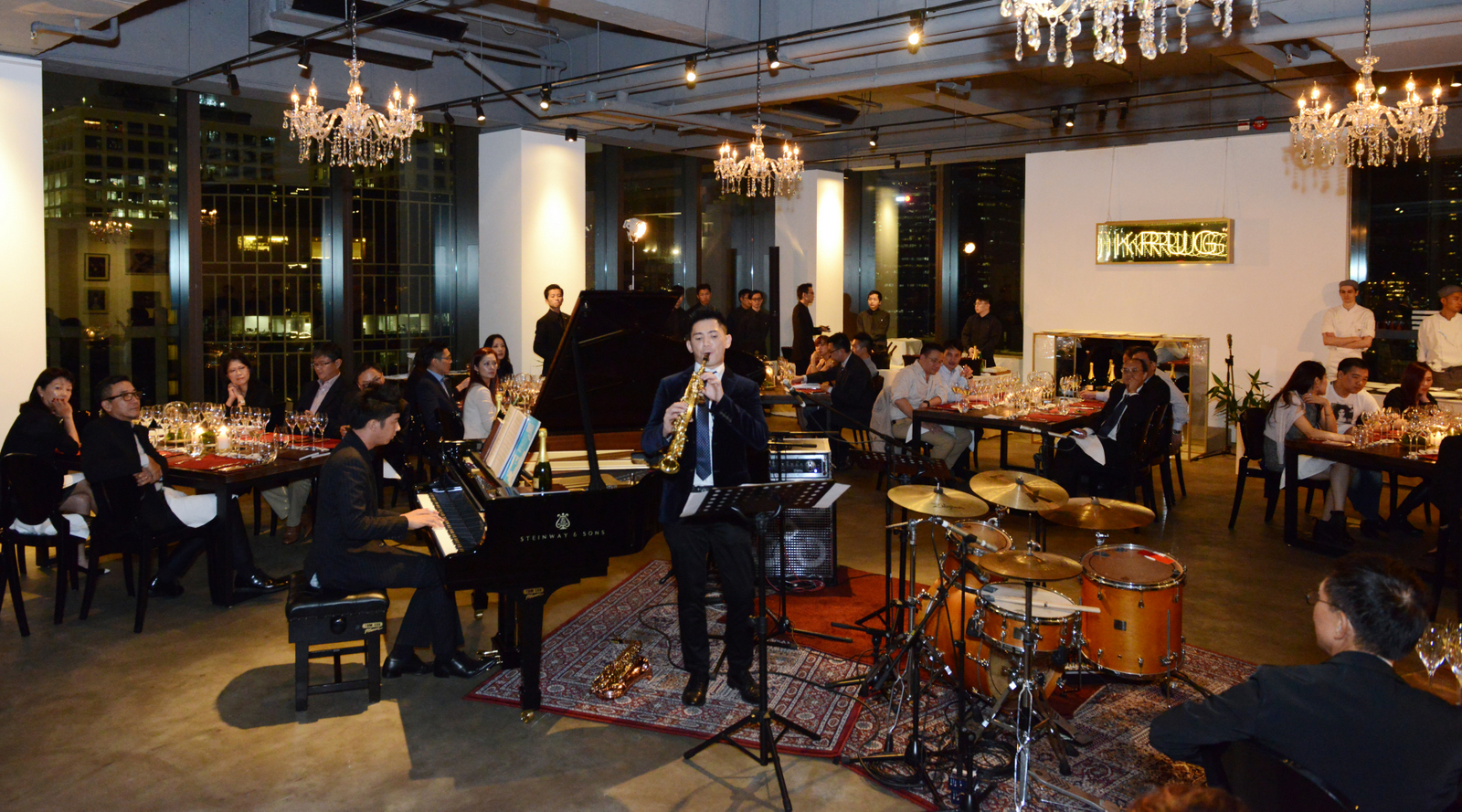 Live Performance in Krug Champagne Event