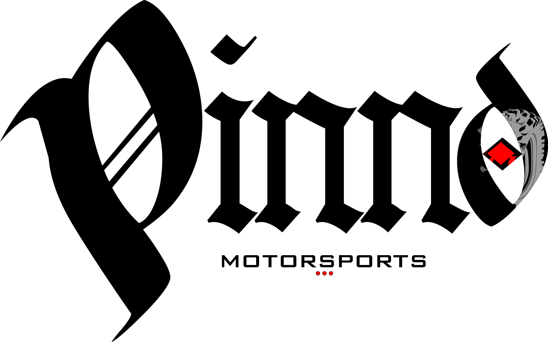 Logo for Pinnd motorsports. Created in Adobe Illustrator