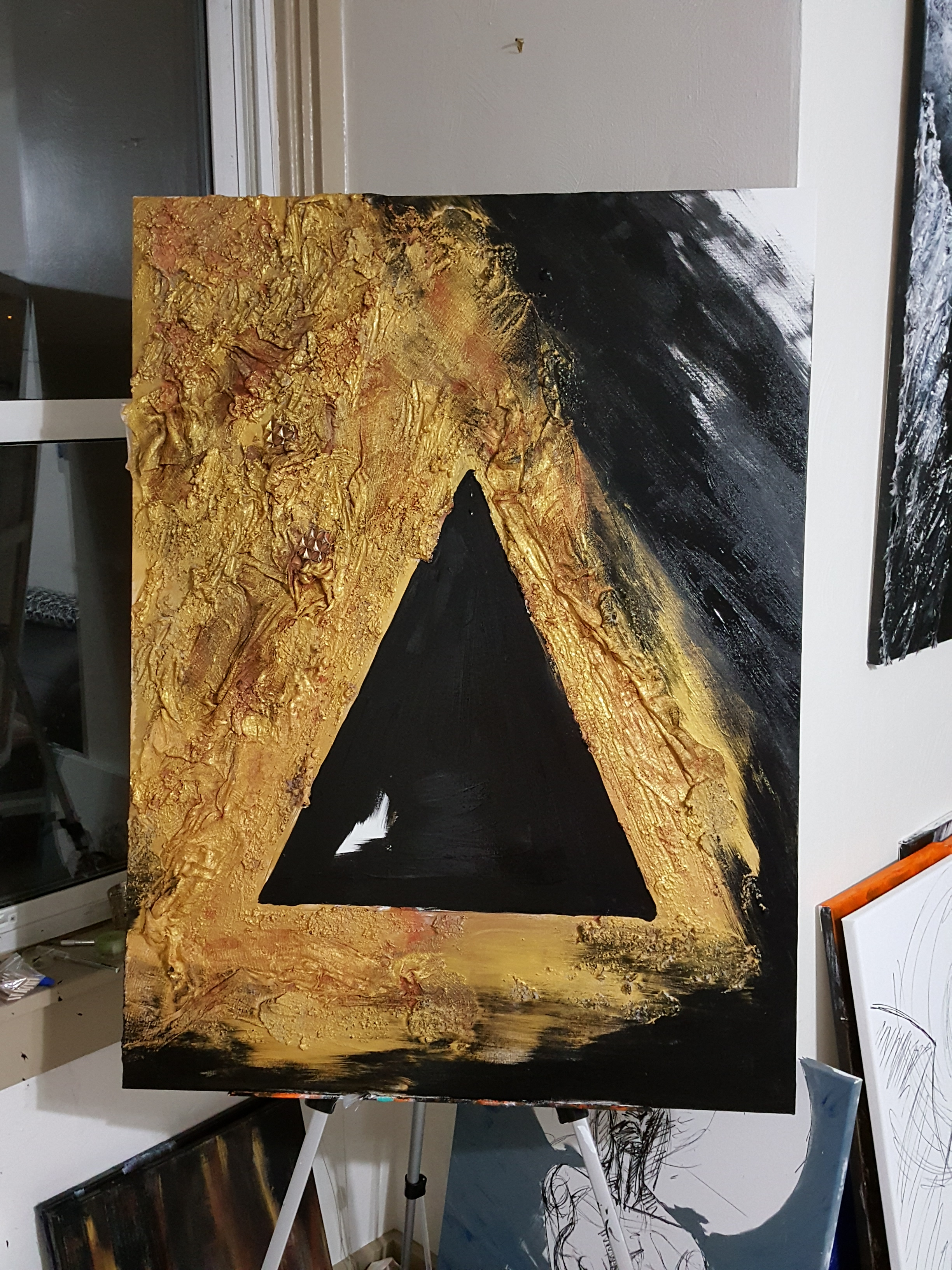 gold triangle WIP