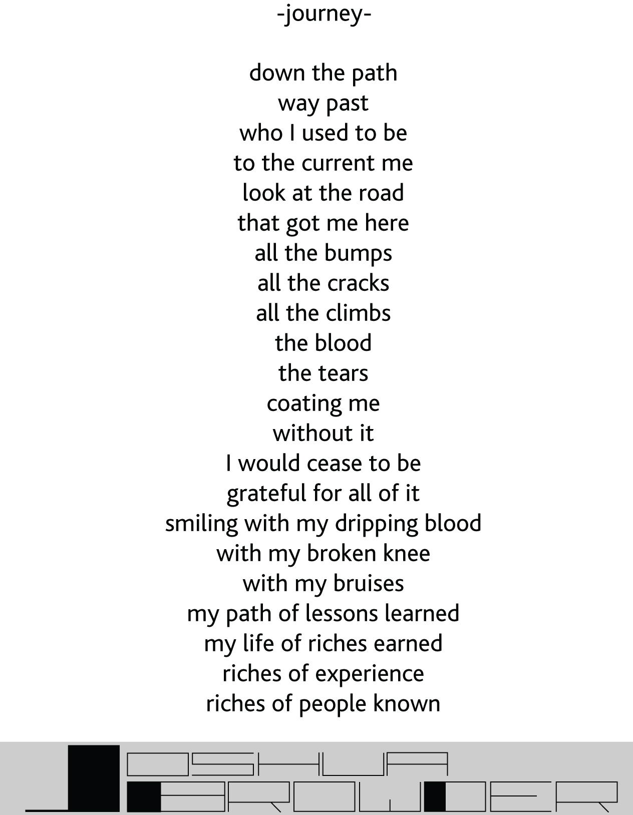 journey poem
