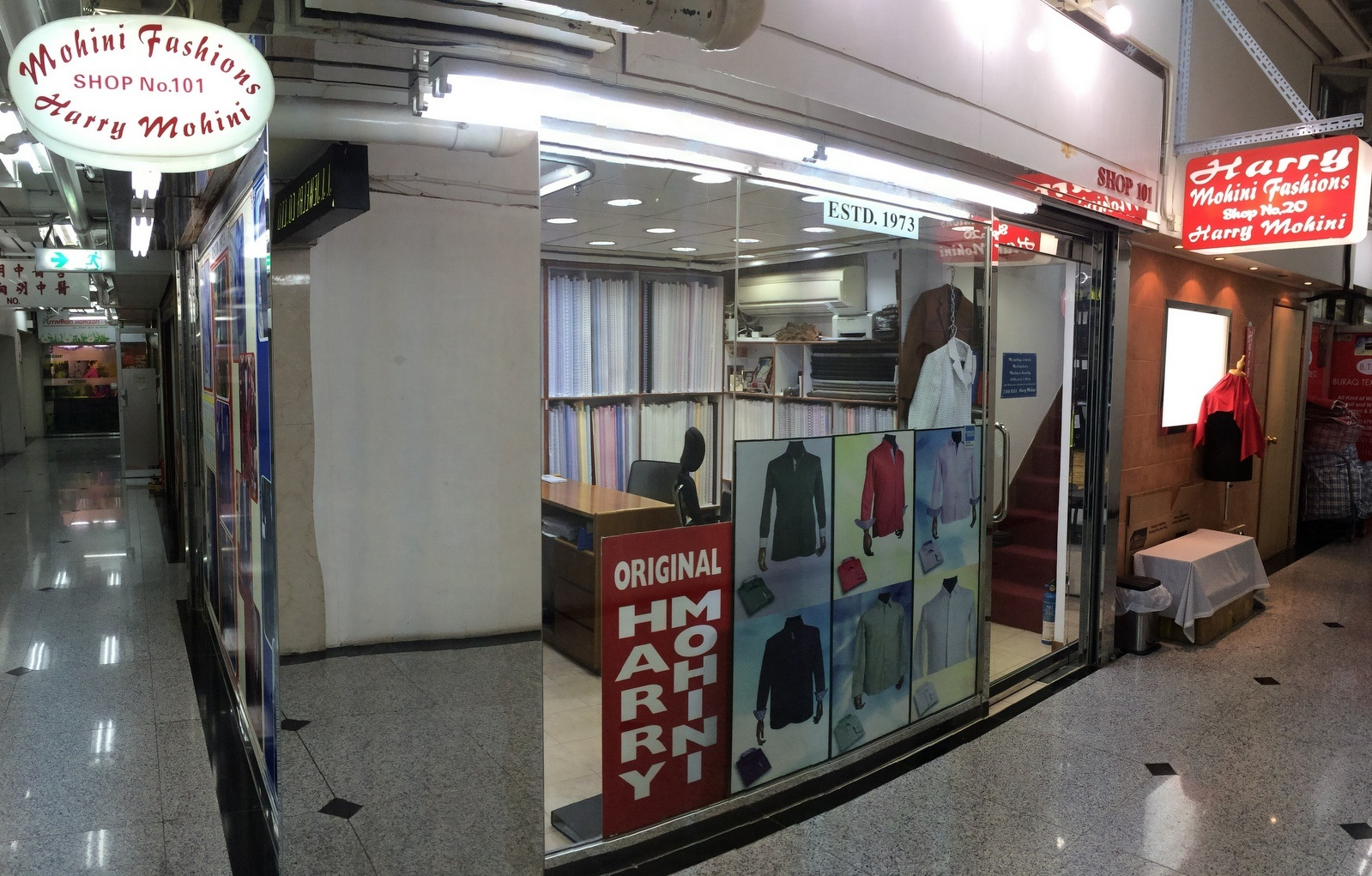 Since 1973 Mohini Fashions has taken the lead as one of the finest custom tailors of Hong Kong.